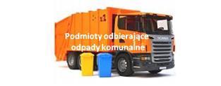 Podmioty odbierające odpady komunalne
