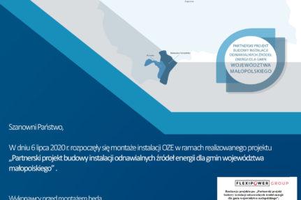 Instalacje OZE – realizacja projektu