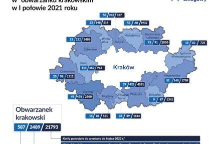 Obwarzanek krakowski wymienił zaledwie 2 proc. kopciuchów